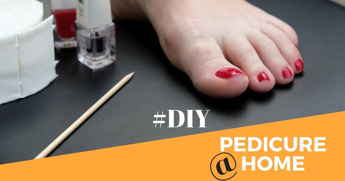 Diy Pedicure At Home Jithya Blog